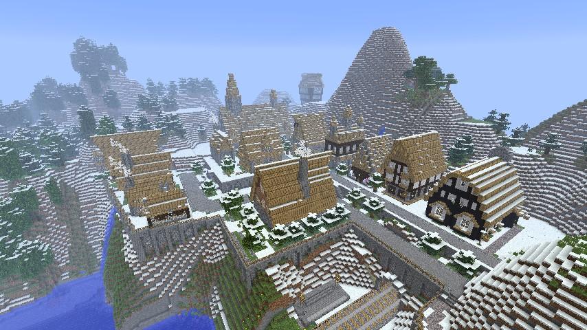 Hogsmeade part of laroch s wizarding world project