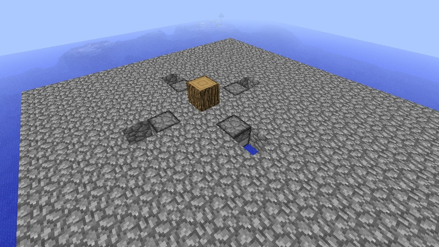 how to make a stone generator in minecraft skyblock
