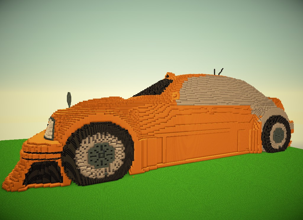 Racing Car Minecraft Project