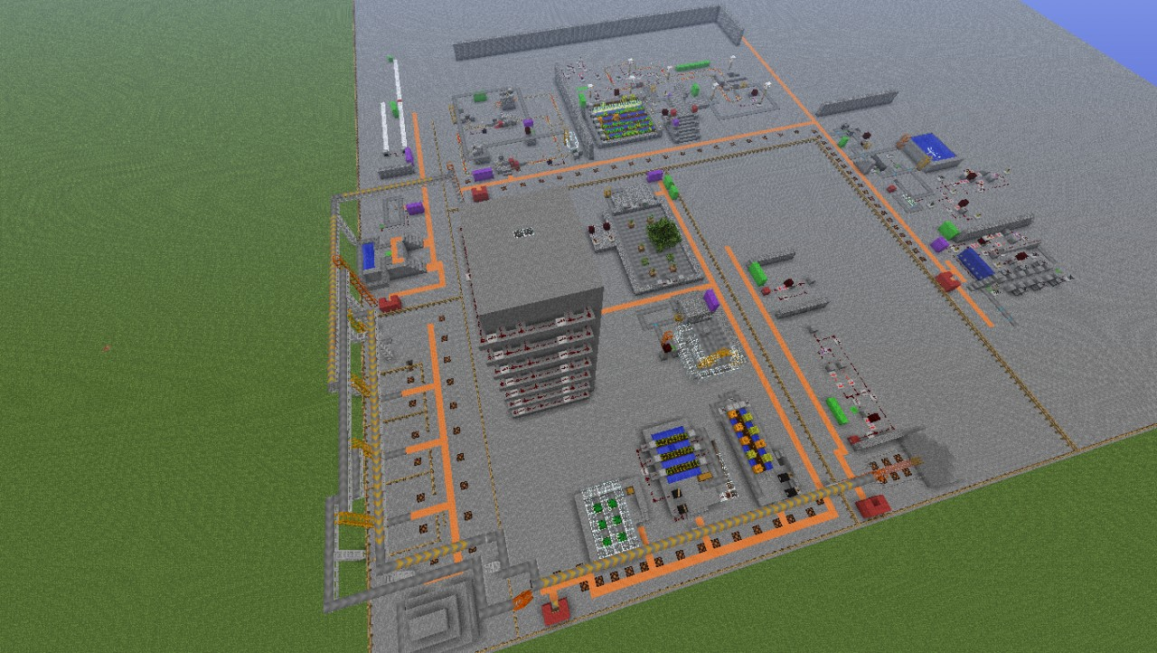 Advanced Power Craft Demo Map Minecraft Project