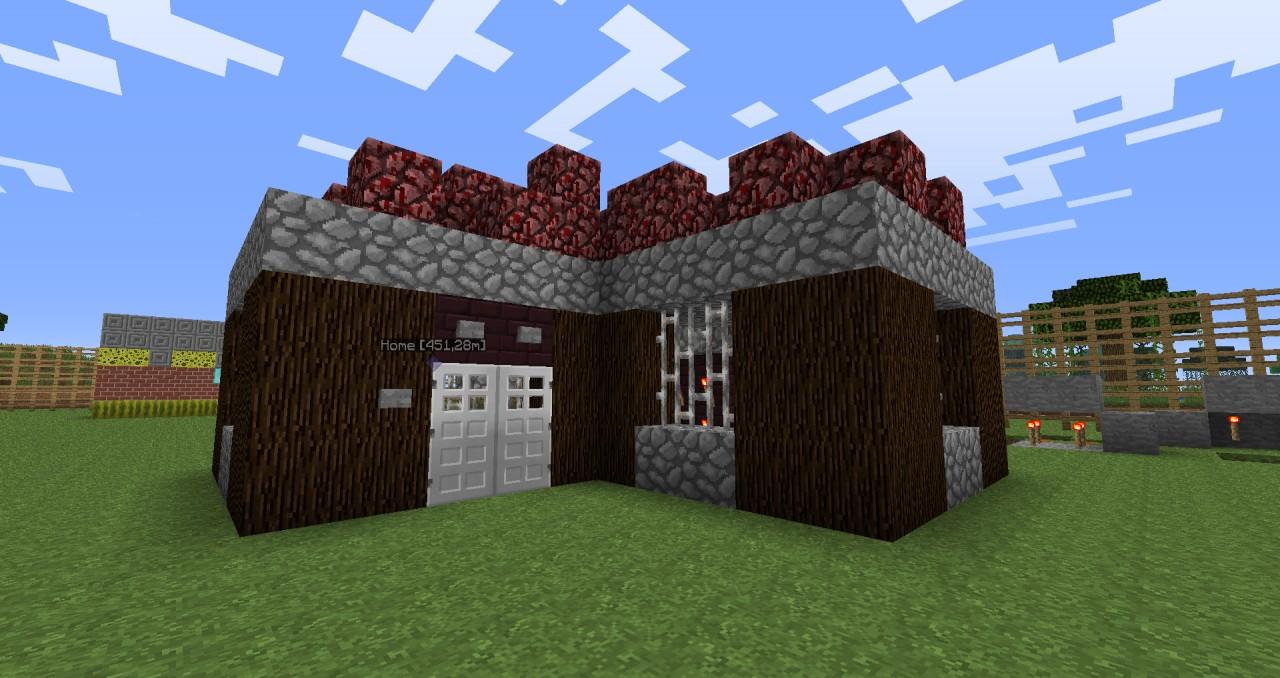 Idea To Neather House Minecraft Blog