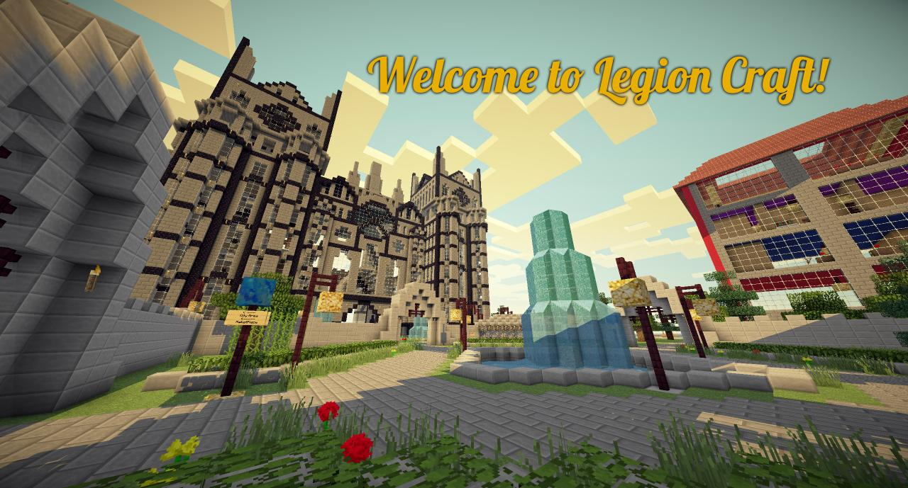 Welcome to Legioncraft!