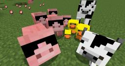 Improved Cows, Chickens. and Pigs! Minecraft Texture Pack