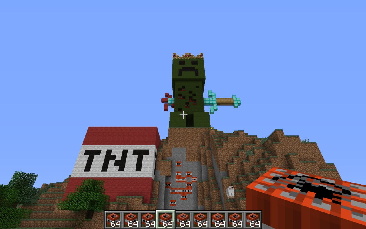 how to get a creeper head in minecraft survival