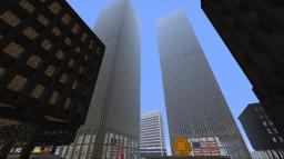 World Trade Center + Mall Minecraft Map & Project