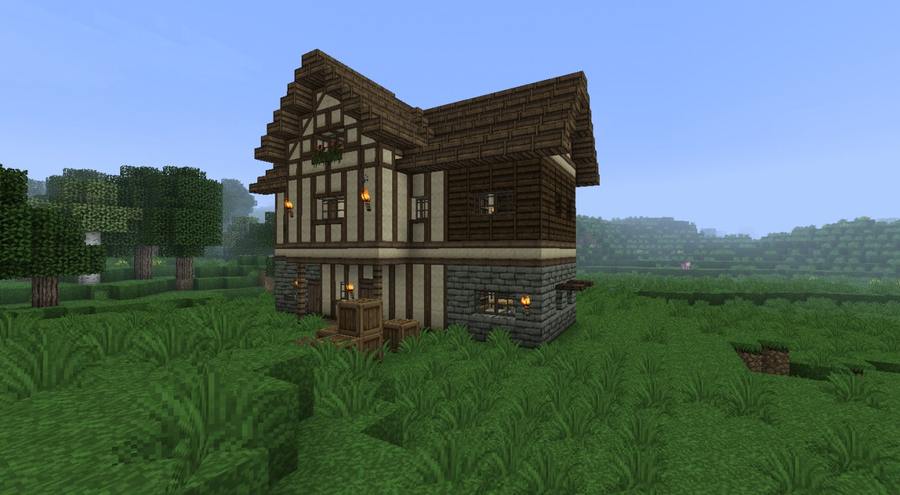 Medieval Timber Framing Minecraft Texture Pack