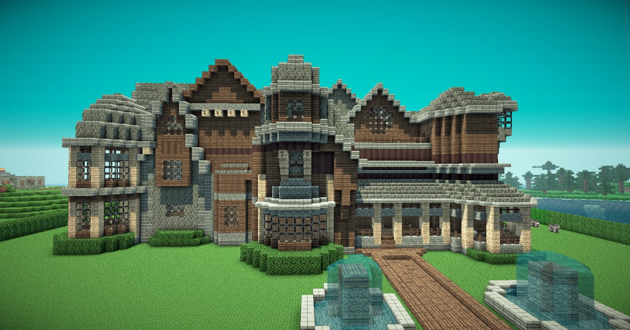 Arkenarge 39 S Mansion Minecraft Project
