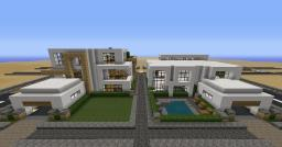 modern town Minecraft Map & Project