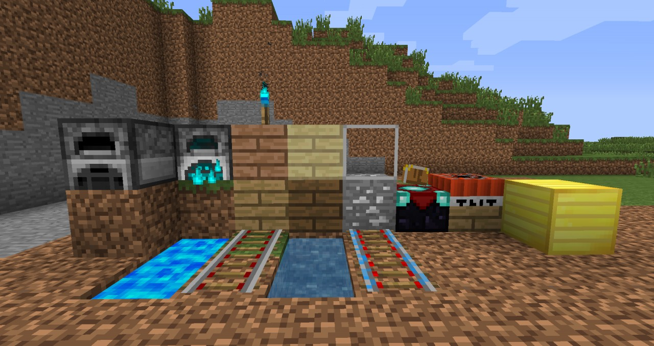 Obsidiapack Blue Lava Discontinued Minecraft Texture Pack