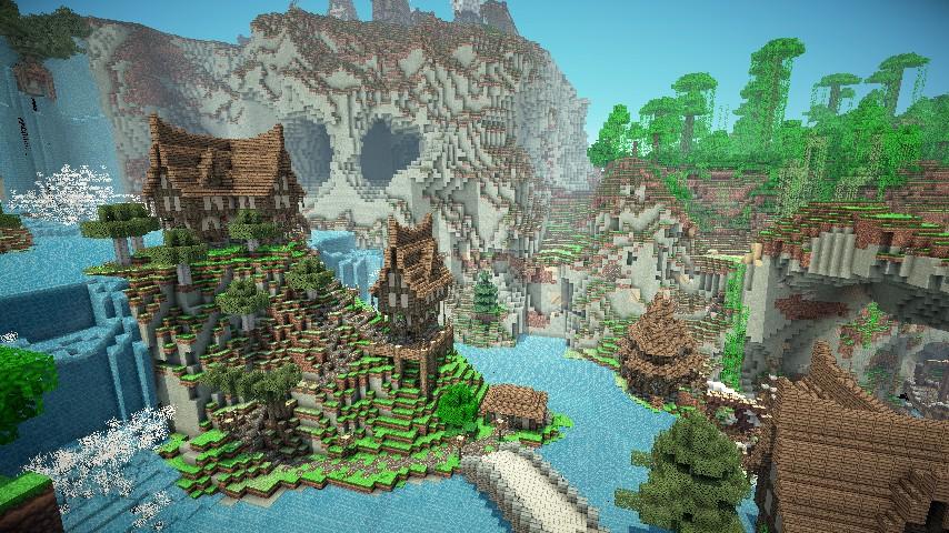 Скачать текстуры Средневековье для Minecraft 1.7.2 ...
