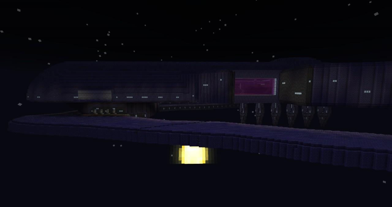 (HALO) SDV-class heavy corvette (Covenant) Minecraft Project