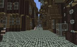 Leaky Cauldron + Diagon Alley