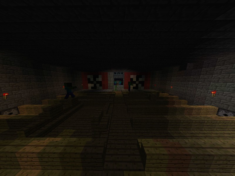 Zombie survival wave style minecraft project - Zombie style minecraft ...