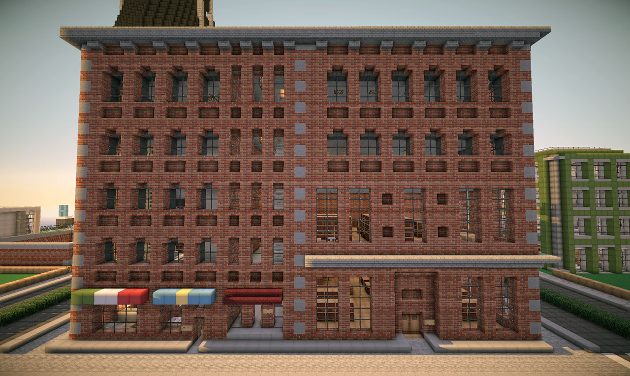 New York Brick Buildings On World Of Keralis