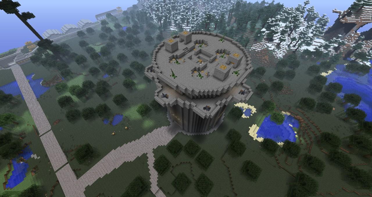 Ww2 German Flak Tower Minecraft Project