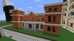MANOR. Minecraft Map & Project