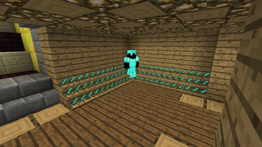 Underground Base Minecraft Project