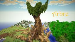 Arbre Minecraft Map & Project