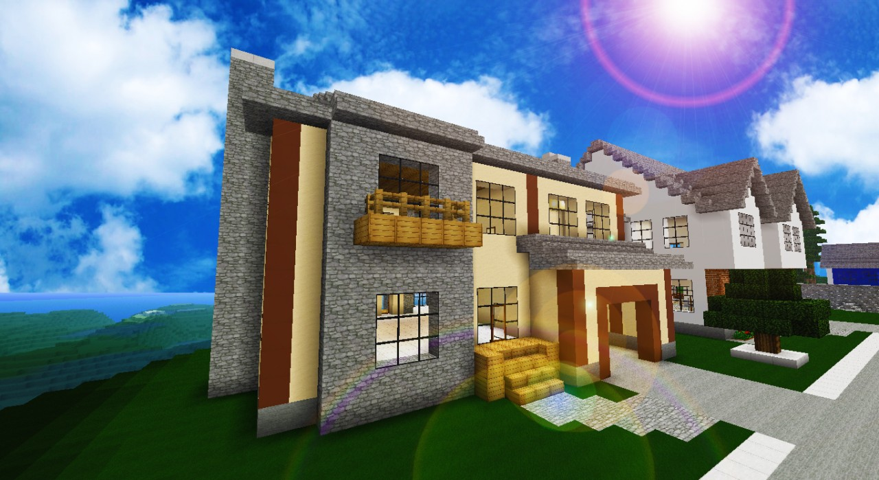 Luxury Beach Home Minecraft Project