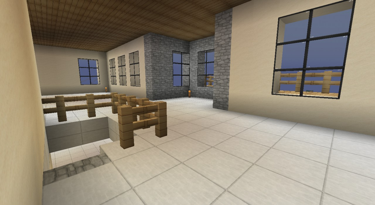 Luxury Beach Home Minecraft Project