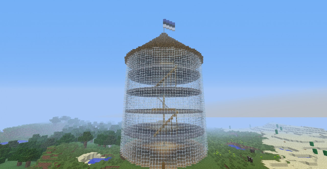 Glass Tower Minecraft Project