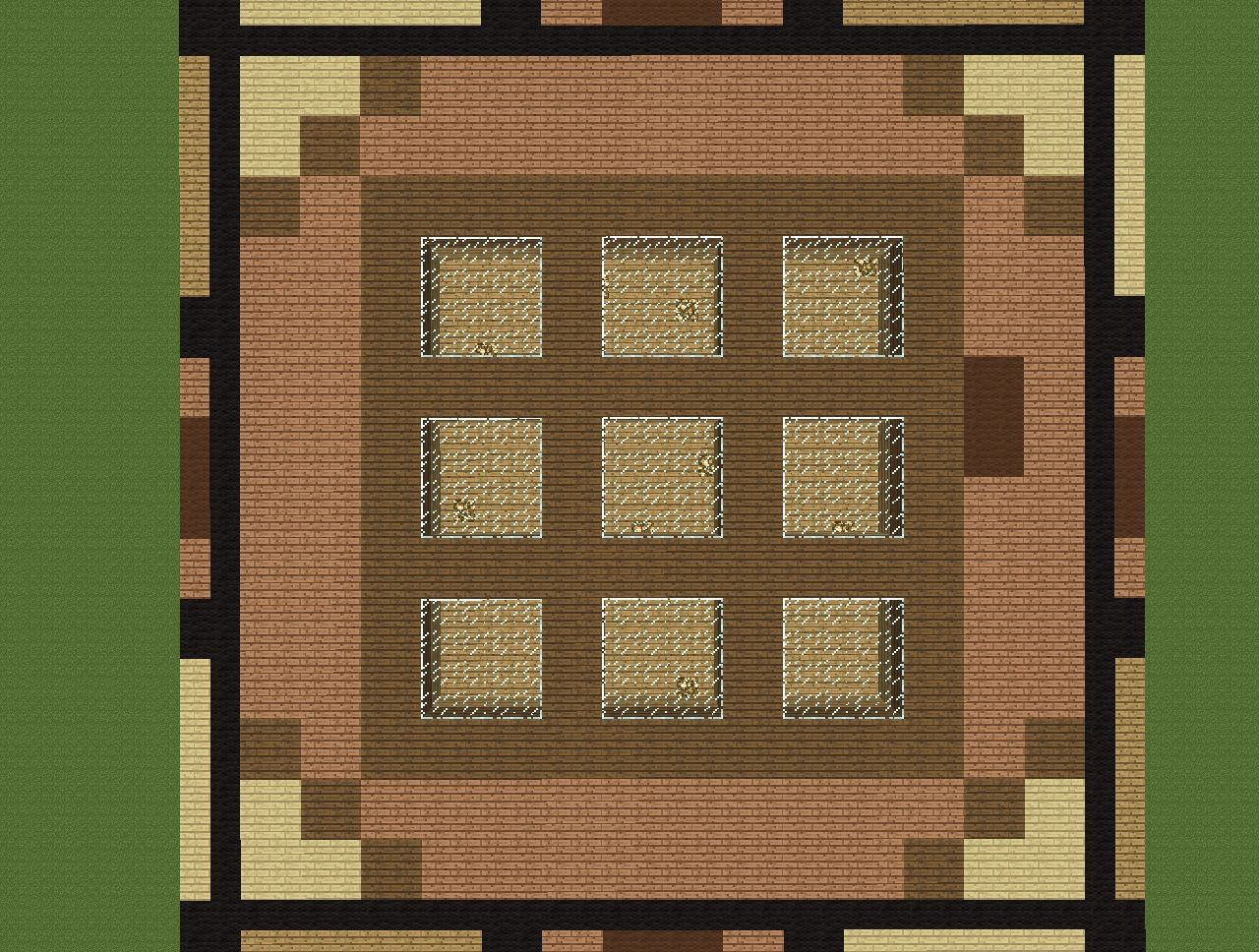 Crafting Table House 32x32 Ultimate Flatland Survival