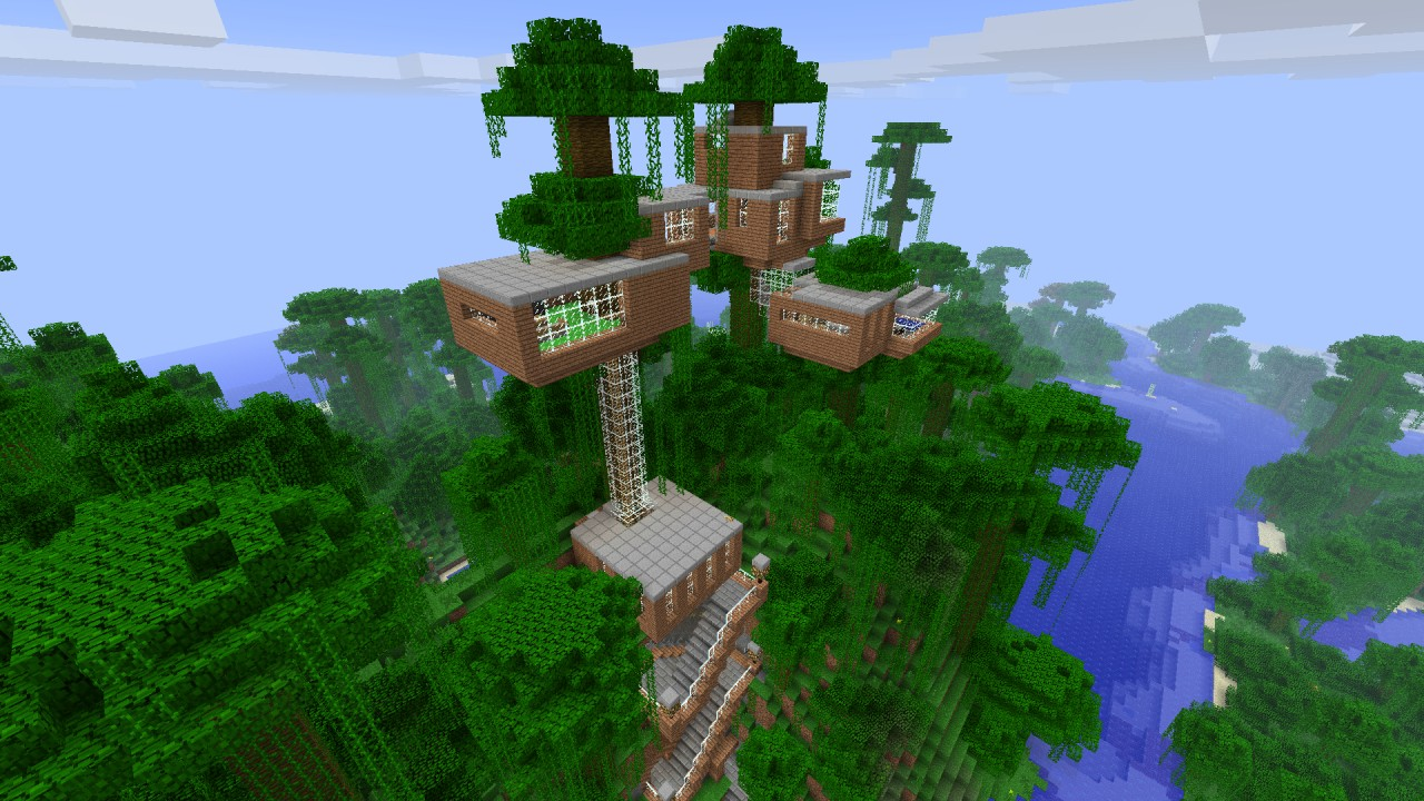 Baumhaus - Treehouse Minecraft Project