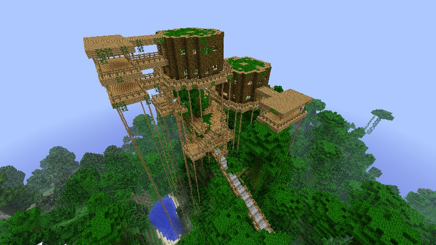 Level 10 Thank you Treehouses Minecraft Project