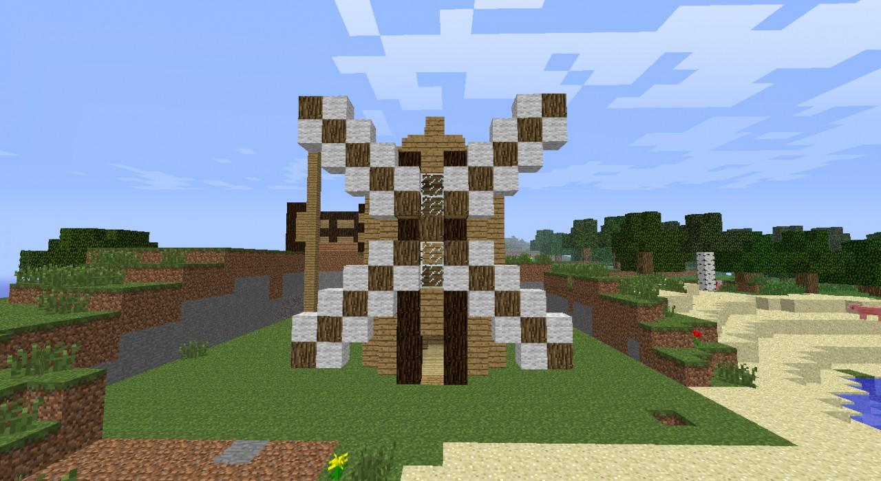 Windmill Schematic Minecraft Project