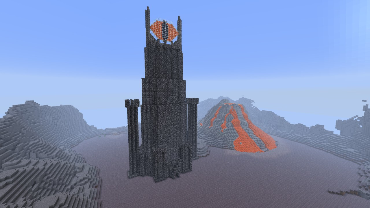 LORD OF THE RINGS PVP MAP Minecraft Project Minecraft Lord Of The Rings Castle