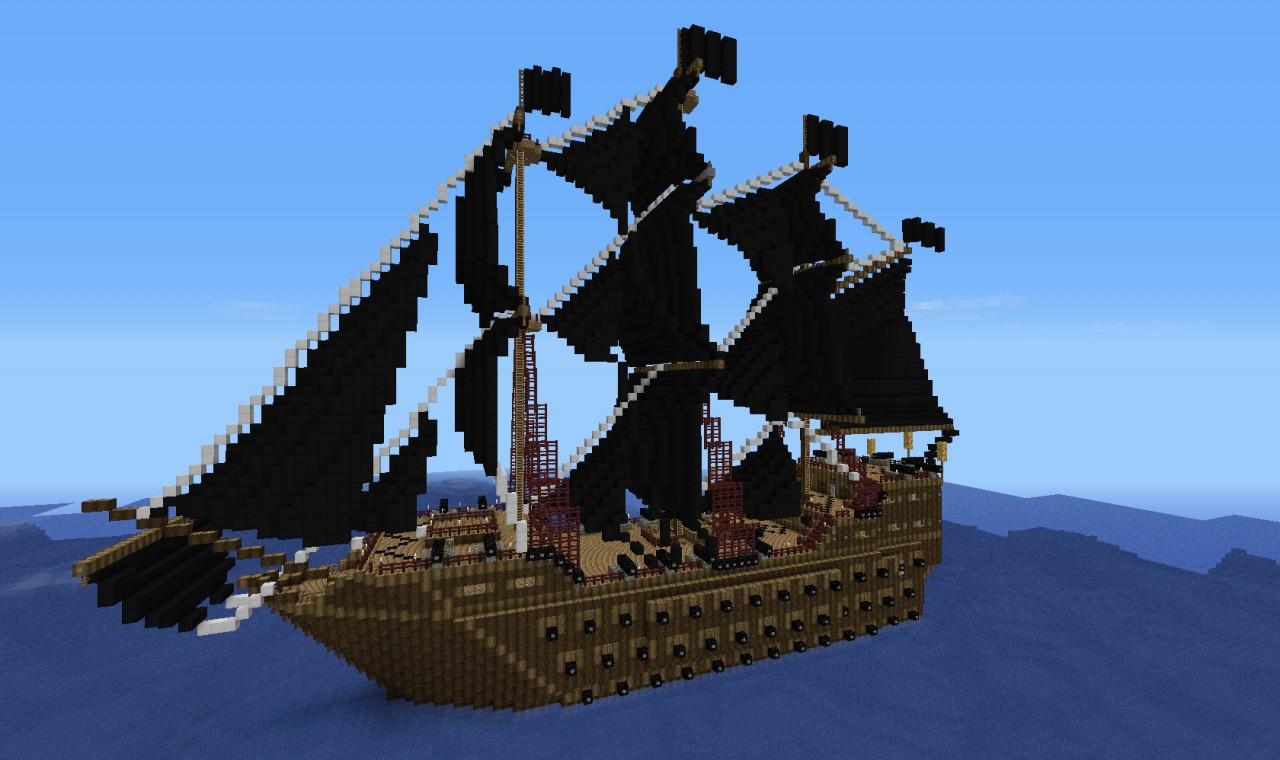 Minecraft Pirate Ship BlueprintsPirate Ship Minecraft Design
