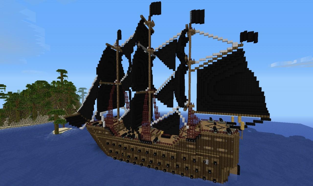 Big Block Build - Minecraft Pirate Ship - YouTube - HD WallpapersPirate Ship Minecraft Design