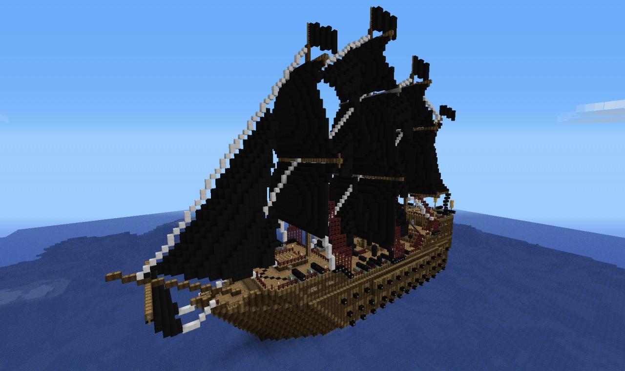 карта для майнкрафт пиратский корабль #4