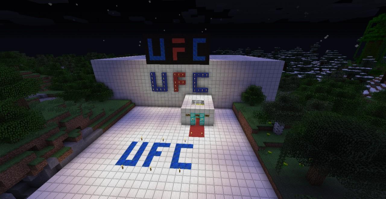 Ufc Arena Minecraft Project