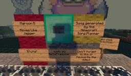Moves like Jagge note-block full song!!! Minecraft Map & Project