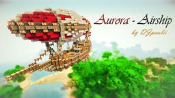 Aurora Airship || +DOWNLOADLINK! Minecraft Project