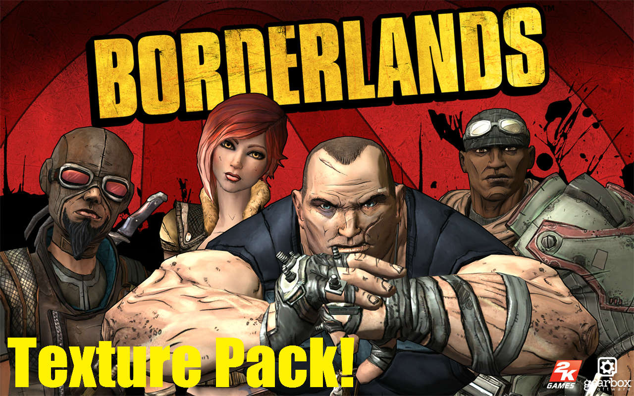 Borderlands Texture Pack [Mobs] Minecraft Texture Pack