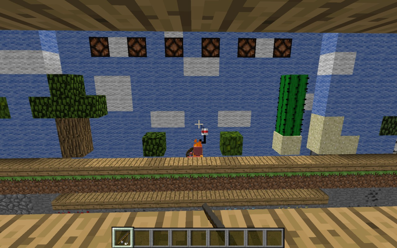 Minicraft Mini Game: Fish Em' Up Minecraft Project