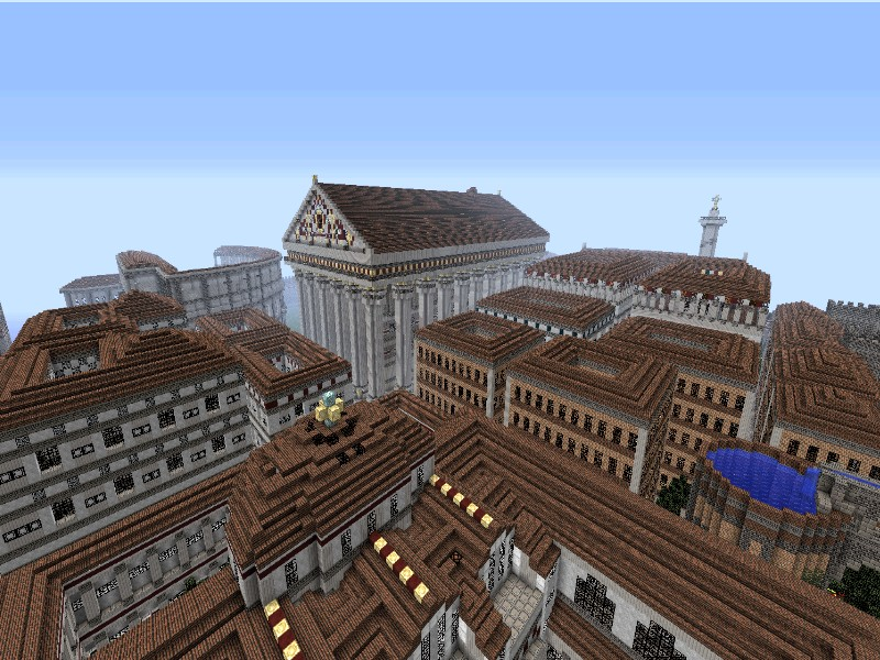 Minecraft Roman Senate Building