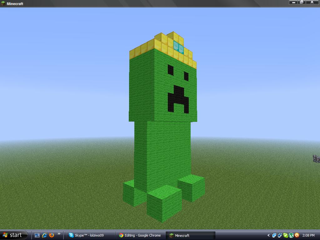 Baby king creeper Minecraft Map