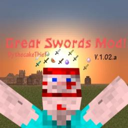 Great Swords Mod Minecraft Mod