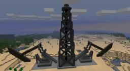 Oil Derrick and Pumpjacks