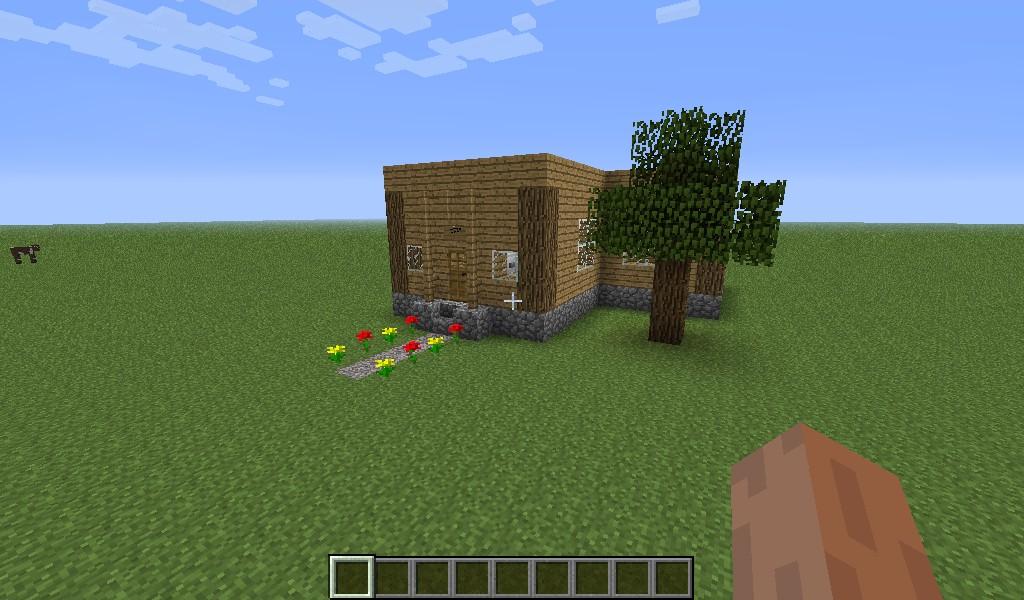 Simple House Minecraft Simple-house