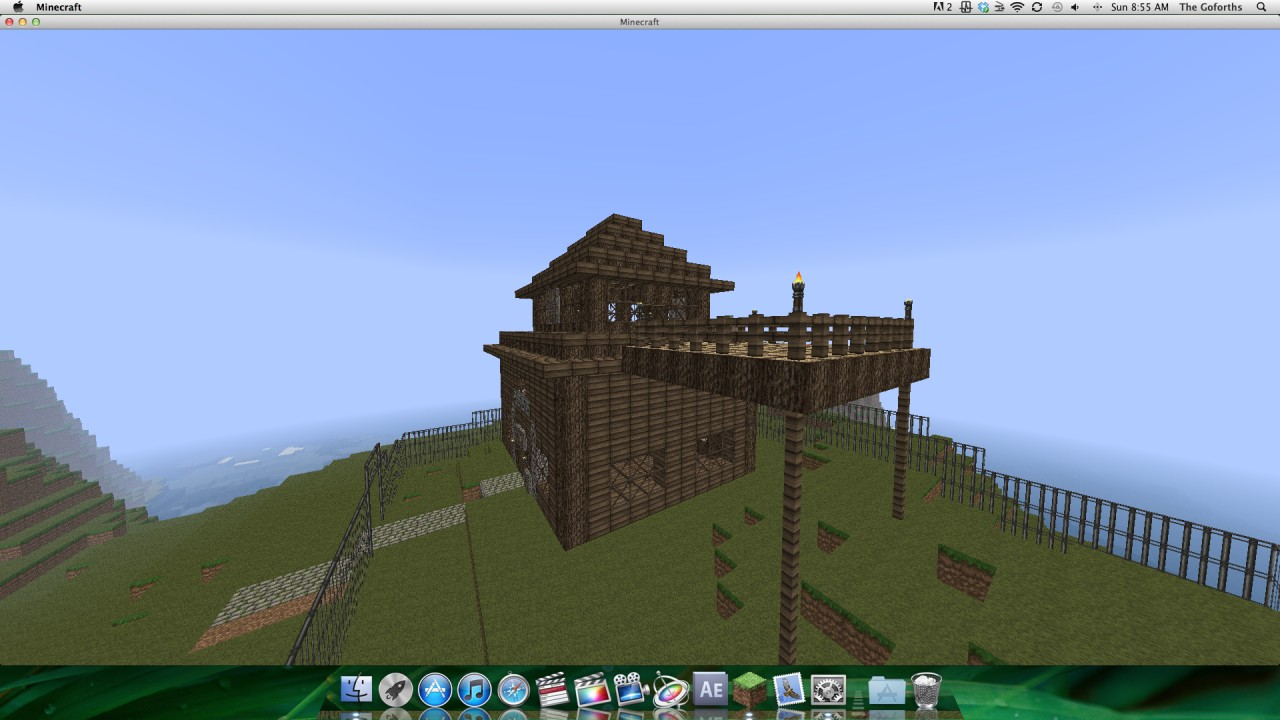Log Cabin Mansion Minecraft Project