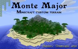 Monte Major - Volcanic island v3.2 ores, nether, treasures Minecraft Map & Project
