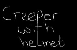 Creeper with Helmet Minecraft Map & Project