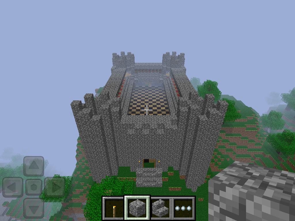 Minecraft PE Castle! Minecraft Project