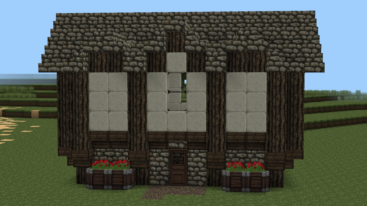 Medieval house design no 4 minecraft project for Medieval house design