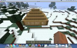 Starting house(with hidden treasure) Minecraft Map & Project