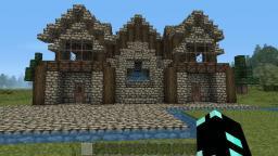River Side Village Minecraft